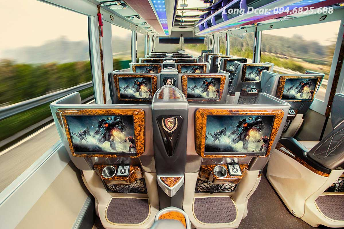 Xe Limousine Dcar 29 Chỗ – Hạng Thương Gia