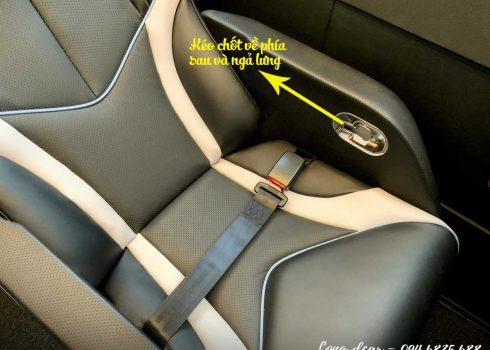 Cách sử dụng ghế xe Limousine – Cách ngả, điều chỉnh ghế xe Limousine chi tiết